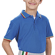 Polo Bambino Italy Royal Piquet