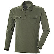 Polo NA43 Fashion Two Pockets Green M/L