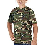 T-Shirt Bambino US Woodland Camo