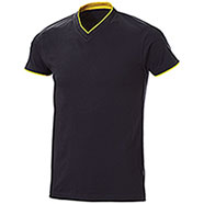 T-Shirt Serrat Black Yellow