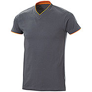 T-Shirt Serrat Cool Grey Orange