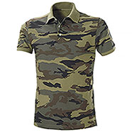 Polo piquet Mission Camouflage Green