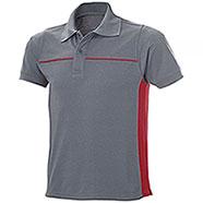 Polo Fashion Bicolor Grey-Red