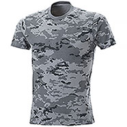 T-Shirt uomo Combat Camo Grey