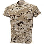 T-Shirt Combat Camo Dark Desert