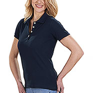 Polo Donna Classic Piquet Cotton Navy