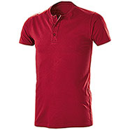 T-Shirt Serafino Red