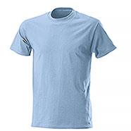 T-Shirt Fruit of the Loom Celeste
