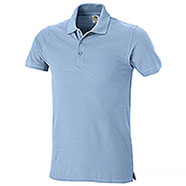 Polo Piquet Fruit of the Loom Blu Cobalto