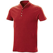 Polo piquet Collo Coreana Red