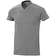 T-Shirt uomo Serrat Light Grey-Black