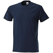 T-Shirt Fruit of the Loom Navy Taglie Forti