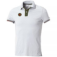 Polo piquet Star U.S. Army White