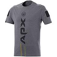 T-Shirt Beretta APX Grey Mélange M/C