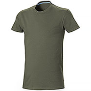 T-Shirt uomo Miami Cotton Army Green