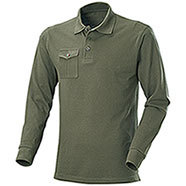 Polo piquet M/L One Pocket Army Green