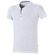 T-Shirt Serafino Russell White