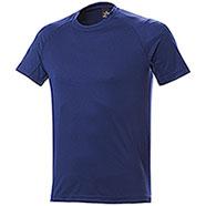 T-Shirt uomo Sport Nek Dry Skin Navy