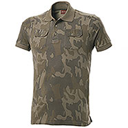 Polo Fashion Evò Two Pockets Original Camo M/C Alta Qualità
