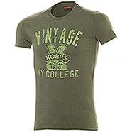 T-Shirt uomo New Vintage Korps Green