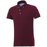Polo Button Down Burgundy