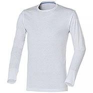 T-Shirt uomo Manica Lunga Jam White