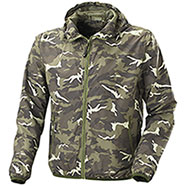 Giacca a Vento Light Camo Green