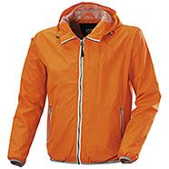 Giacca a Vento Light Orange Fluo