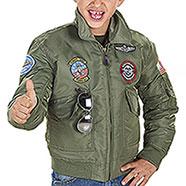 Bomber Bambino Top Gun Green