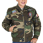 Bomber Bambino Top Gun Woodland