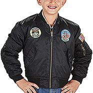 Bomber Bambino Top Gun Black