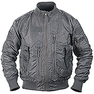 Bomber US Urban Grey Tactical Flight Jacket