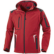 Giacca Softshell Tech 3 Layer Nordic Red