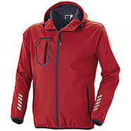 Giacca Softshell 2 Layer Minsk Red