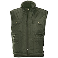 Gilet da caccia Firth Verde Double-Face