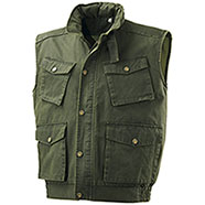 Gilet Caccia Enduit Winter Green