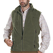 Gilet in pile Beretta Active Track Polartec 200 Green