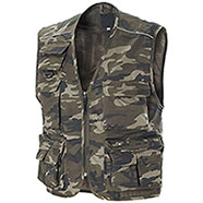 Gilet New Barracuda Camouflage Green