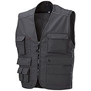 Gilet Lavoro Dark Grey Professional Multitasche