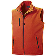 Gilet Softshell uomo Vision Orange