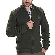 Maglione Kalibro Elbow Green Full Zip