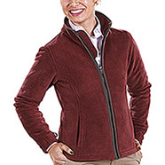 Giacca Baleno Lady Sarah Sherpa Fleece Bordeaux