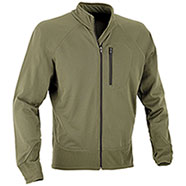Combat  Jacket Full Zip Green