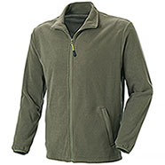 Maglia Micropile Borg Full Zip Army Green