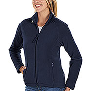 Pile Donna Full Zip Kelly Navy