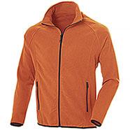 Pile uomo Nordic Orange Full Zip