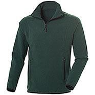 Pile uomo Nordic Dark Green Half Zip