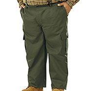 Pantaloni taglie forti  Caccia Green