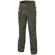 Pantaloni Caccia Green