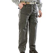 Pantaloni caccia Foderati Burgas Green